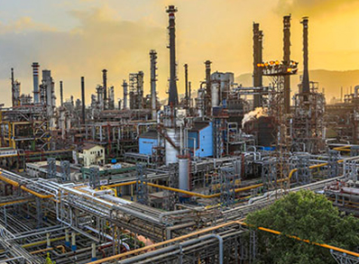 Bharat's Mumbai Refinery Plant