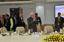 PM Modi in Meeting