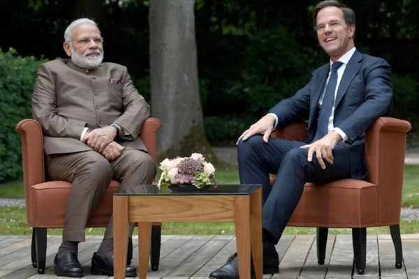 PM Modi & Mr. Mark Rutte
