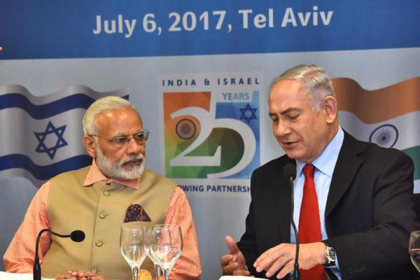 PM Modi & Mr. Benjamin Netanyahu