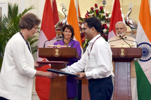 Mrs. Doris Leuthard & Prime minister Modi