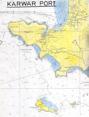 Karwar Port Map