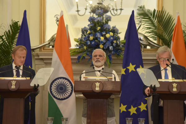 Modi in EU