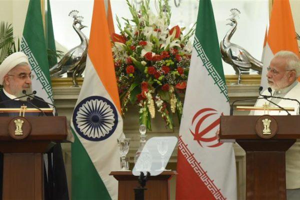 Iranian President and PM Modi