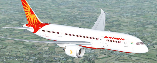 AirIndia Flight, Plane