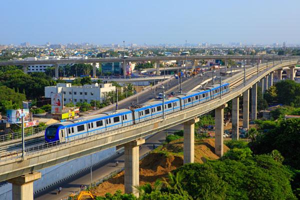 Chennai Metro Lane